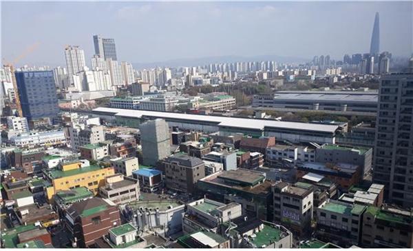 서울시가 '도시재생활성화계획' 수립에 착수하는 광진구 구의역 일대