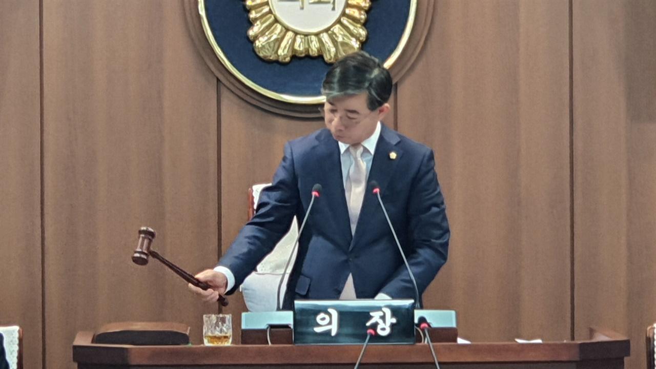 태안군의회 김기두 의장