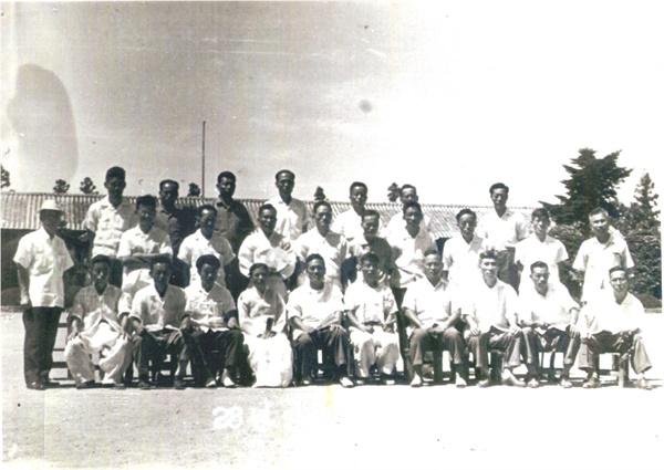 1964년 이동초등학교 졸업식.