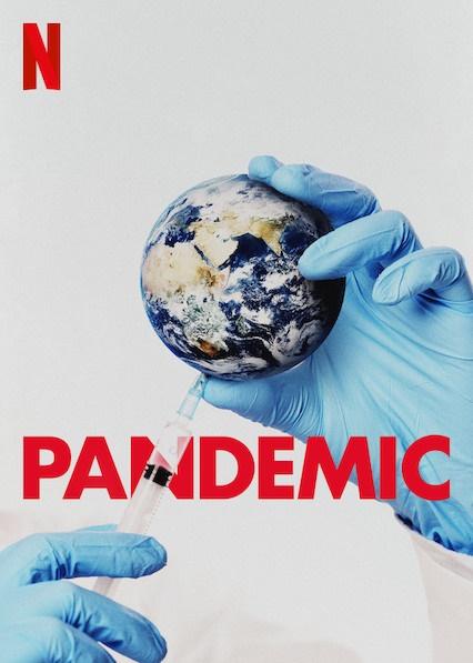 영화 <판데믹: 인플루엔자와의 전쟁> 포스터.