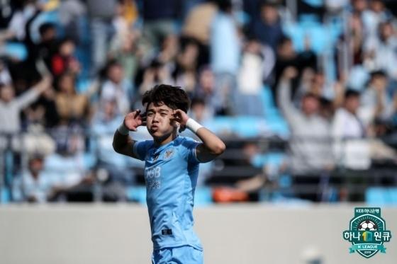 지난 2019시즌 대구에서 활약한 김대원