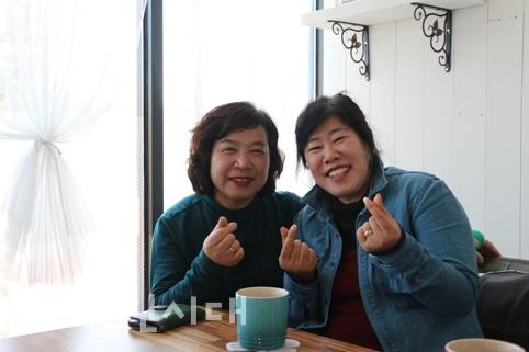 봉사하는 단짝 (왼)최월봉/(오)정순애 씨