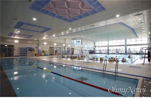 대구시설공단이 임시 휴관하기로 한 서재문화체욱센터 수영장.