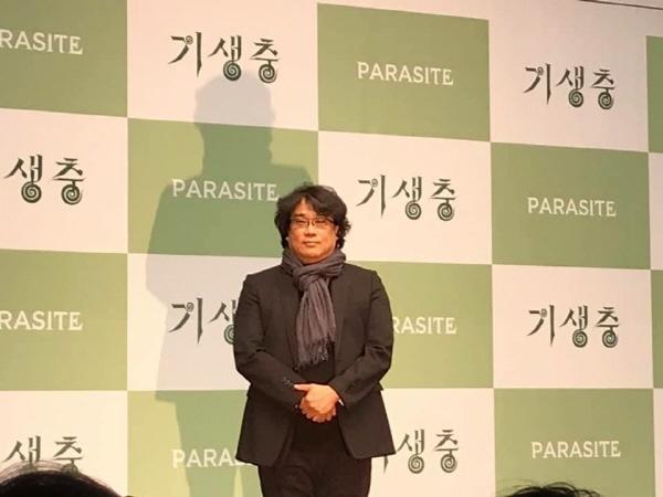 2월 19일(수) 오전 11시 웨스턴 조선호텔 서울 그랜드볼룸에서 열린 <기생충> 기자회견