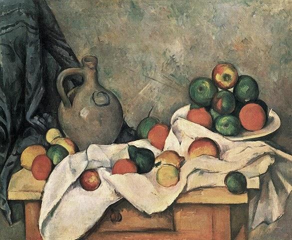 사과 바구니(1890-1894) 폴 세잔 Source: Wikimedia Commons