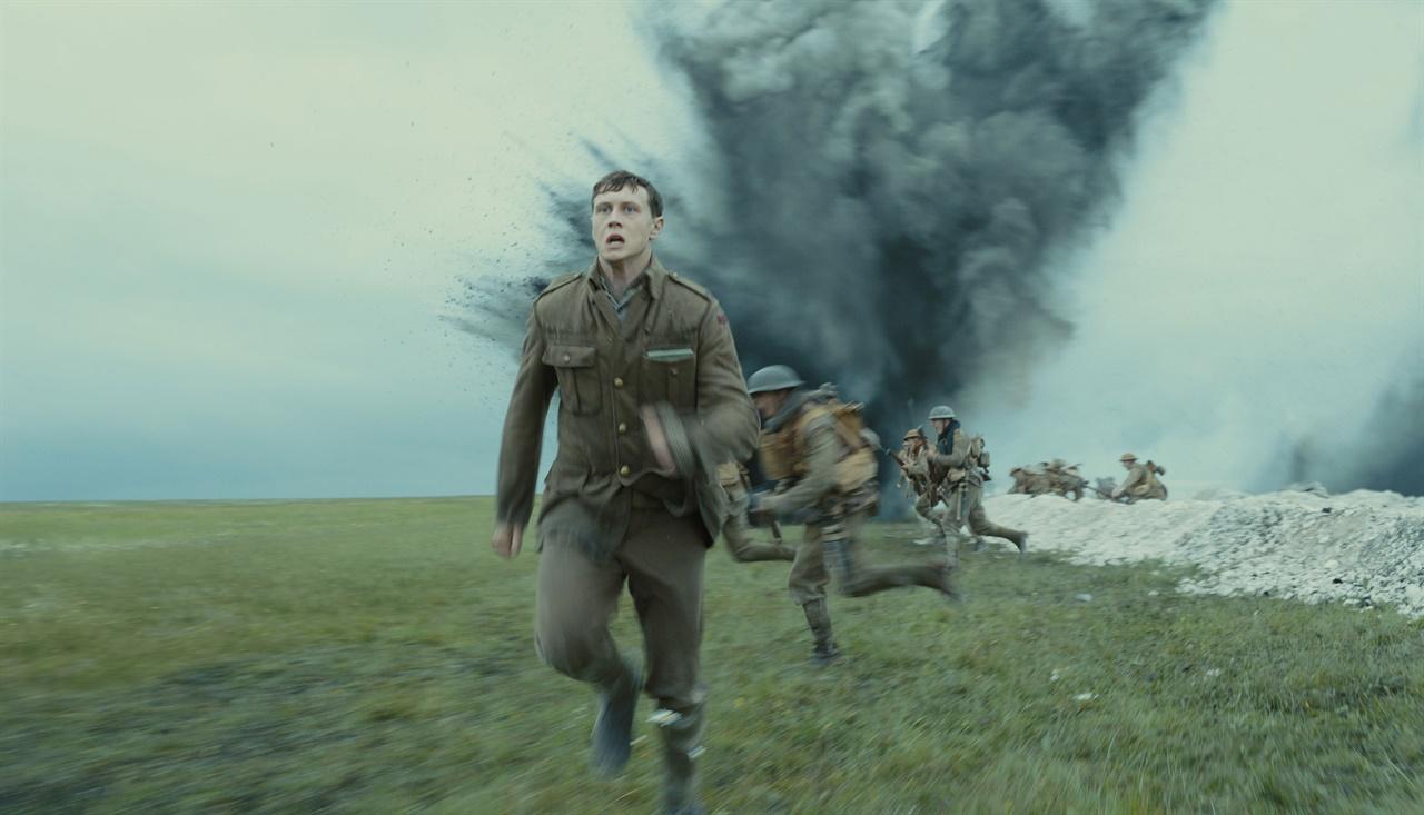 영화 < 1917 >의 한 장면