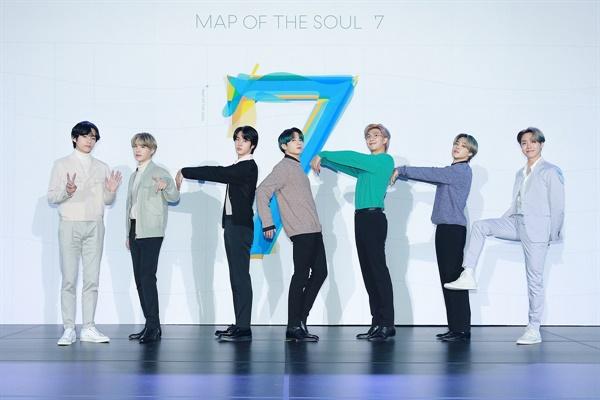 방탄소년단의 새 앨범 < MAP OF THE SOUL 7 > 글로벌 기자간담회