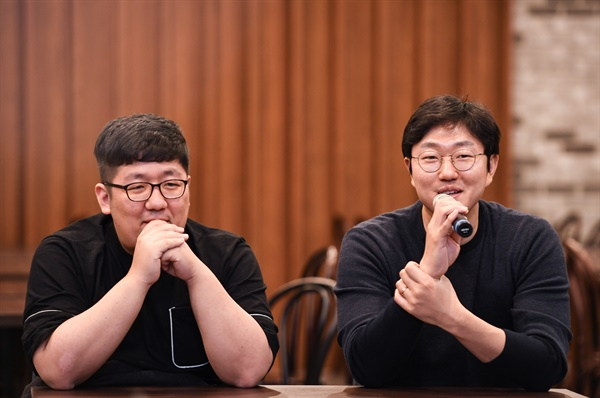SBS 드라마 <스토브리그> 종영 기자간담회 사진