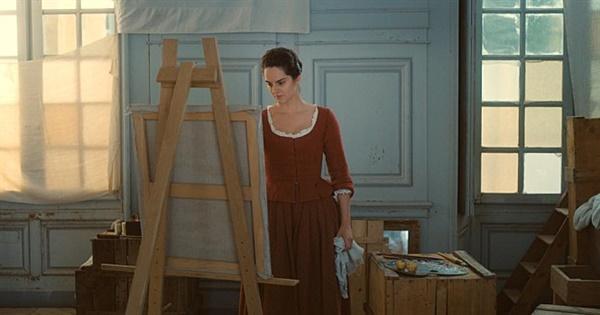 영화 <타오르는 여인의 초상> 한 장면