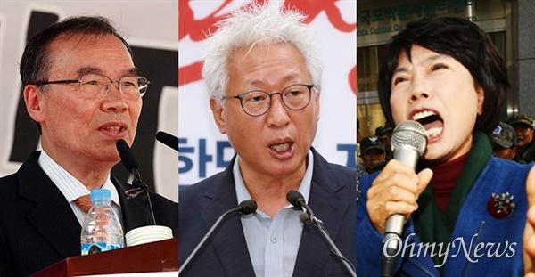 뉴라이트전국연합에서 활동한 김진홍, 류석춘, 주옥순