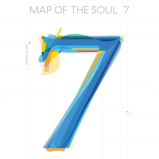 방탄소년단이 지난 2월 21일 발표한 앨범 'MAP OF THE SOUL : 7'은 총 20곡의 수록곡으로 구성되어있다.