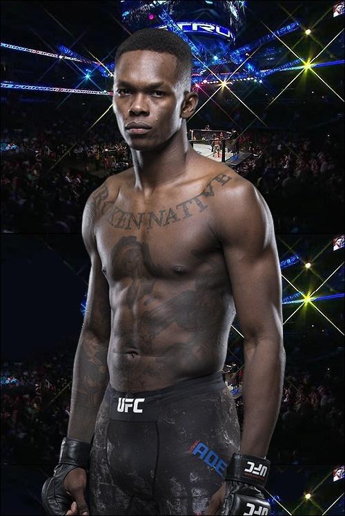 UFC 미들급 챔피언 이스라엘 아데산야