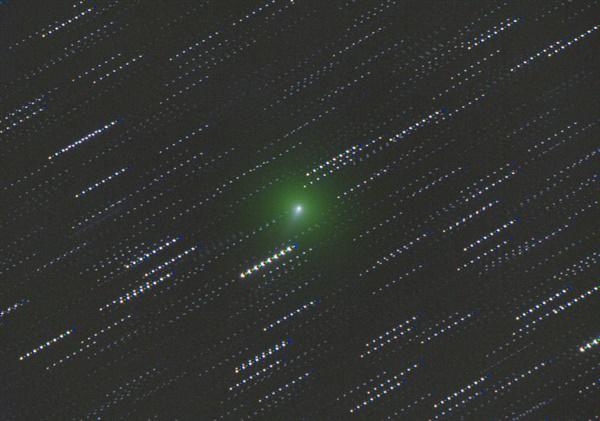 C/2019 Y4(ATLAS) 혜성 2020년3월14일 국립청소년우주센터 덕흥천문대 150mm 굴절망원경을 사용하여 촬영하였고, L,R,G,B필터로 4색 합성하여 컬러 사진을 만들었다. 중간에 보이는 혜성이 지구로 가까이 오며 점점 커질 것으로 예상된다.