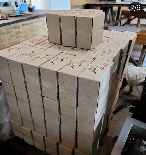 커피 드립백 100박스 익명의 선행자에 의해 대구 경북 지역에서 수고하는 의료진을 위해 준비된 커피 드립백 100박스