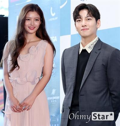 배우 김유정과 지창욱