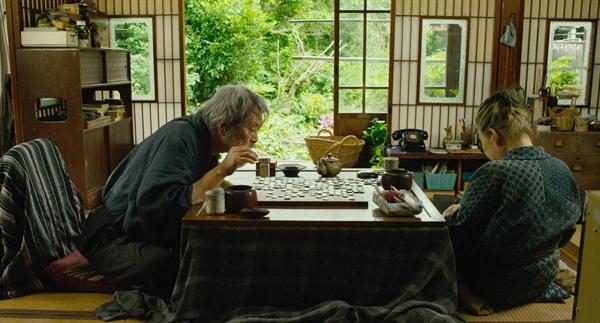 영화 <모리의 정원>의 한 장면.