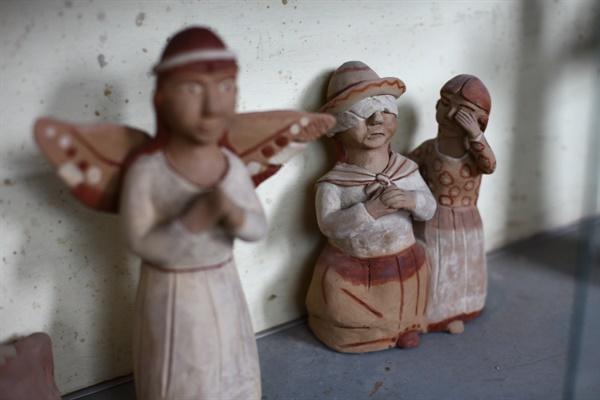 페루 분쟁의 역사를 담은 로사리아의 작품