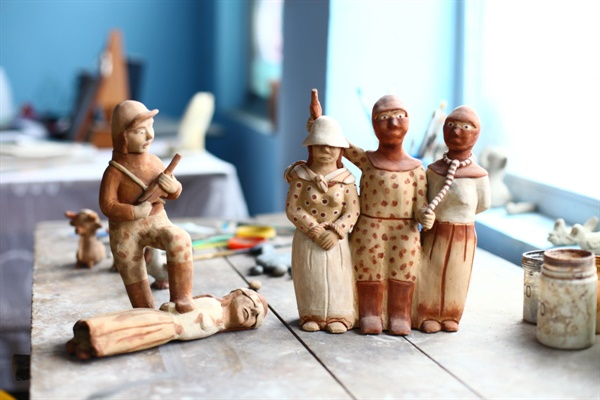페루 분쟁을 담은 로사리아의 작품