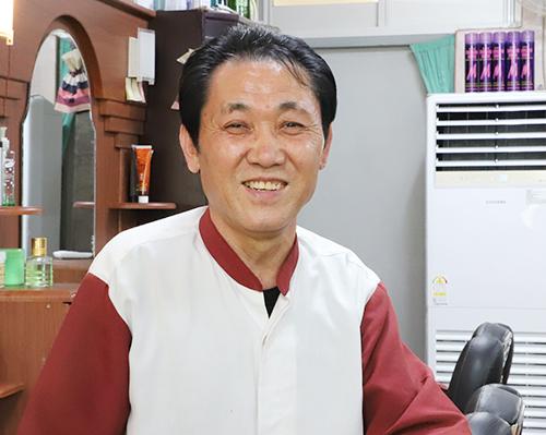 현대이용원 이발사 박성조 씨