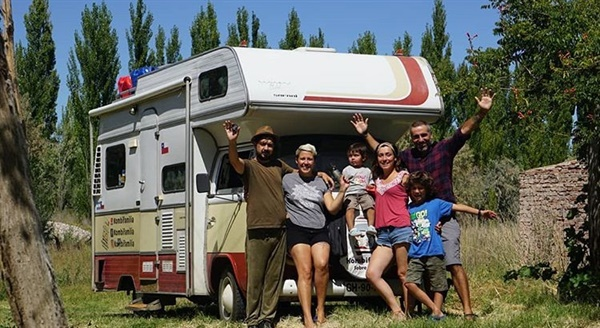 세계 여행이 꿈인 테피의 가족