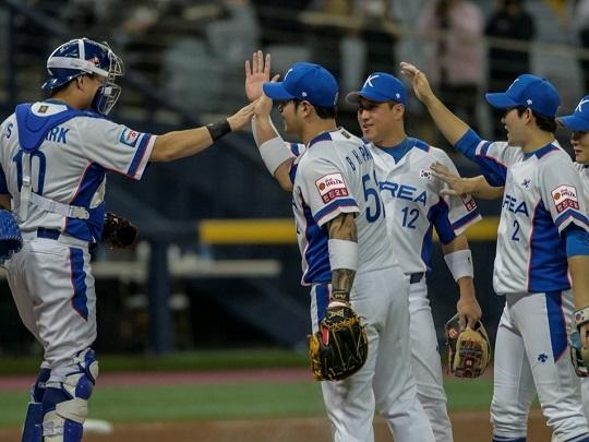 지난해 11월 프리미어 12에서 준우승했던 한국 야구 대표팀