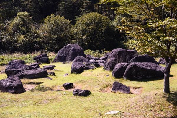 청동기 유물이 발견된 화순 대곡리 인근 효산리에는 청동기시대를 살았던 사람들의 무덤 '화순 고인돌 유적'이 있다. 1998년 사적 제410호로 지정됐고, 2000년에 세계문화유산으로 등재되었다