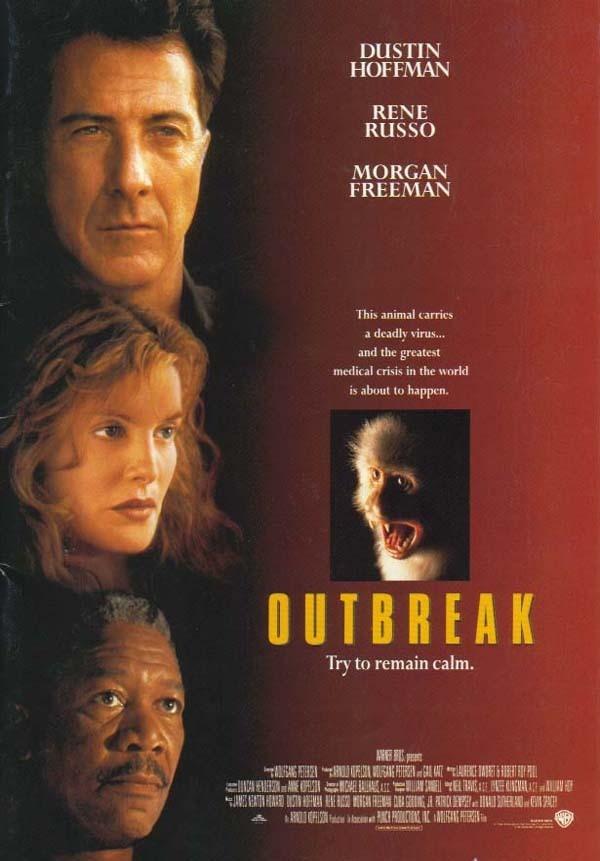 볼프강 피터슨 감독의 1995년작 <아웃브레이크>는 코로나19 시국에서 자주 소환되는 영화다.