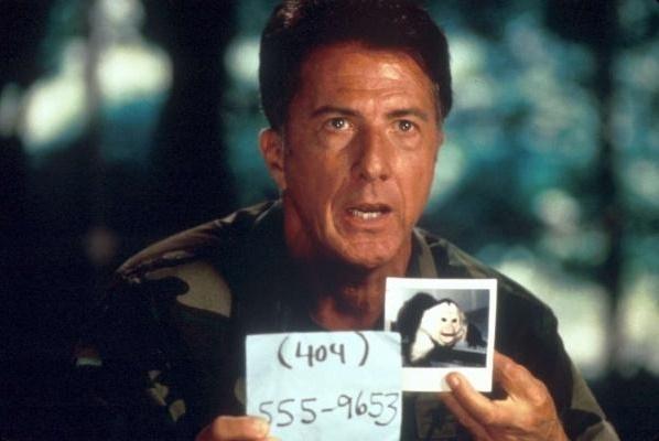 영화 <아웃브레이크>에서 군의관 샘 대니얼스(더스틴 호프만)는 상부의 방해 공작에도 모타바 바이러스 숙주를 찾는데 성공한다.