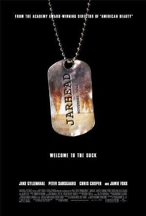영화 <자헤드-그들만의 전쟁> 포스터.