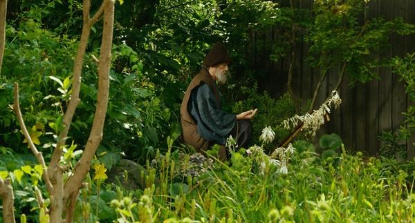 화가인 모리(야마자키 츠토무)는 자신의 집 정원을 꼼꼼하게 돌아보는 게 하루의 일상이다.