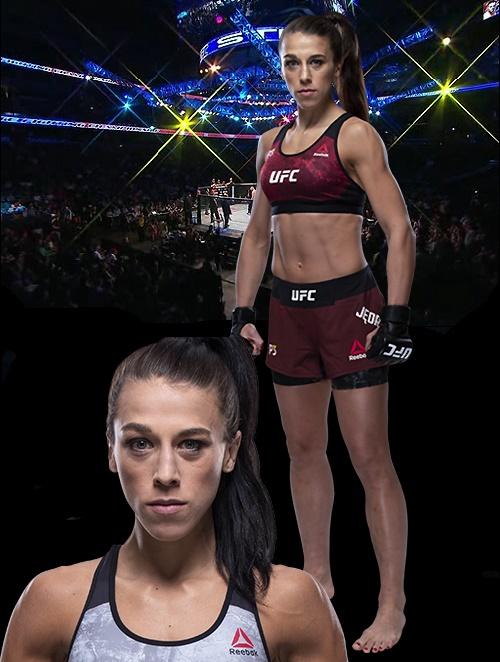 전 UFC 여성 스트로급 챔피언 요안나 옌드레이칙