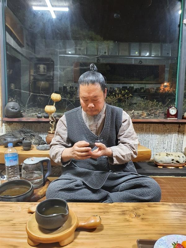 목공예가 송림 정봉기 선생