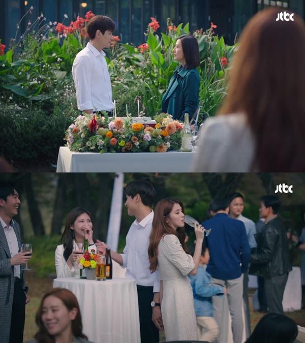 JTBC <부부의 세계>는 2회 시청률 9.979%를 기록했다