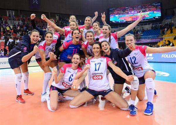 2019-2020시즌 노바라 팀 선수들... 2019 클럽 세계선수권 대회 (2019.12.3)