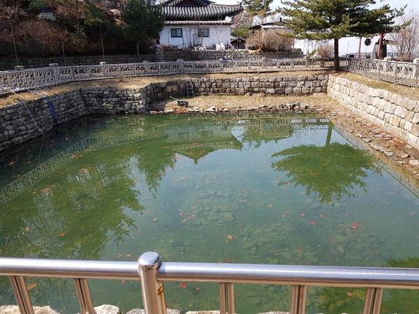 물이 맑고 푸르다(사진=CPN문화재TV심연홍기자)