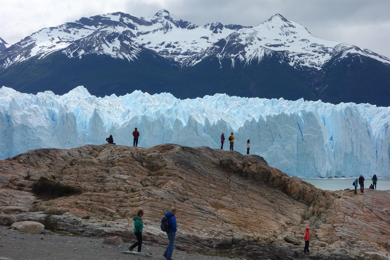 페리토 모레노 빙하. 파타고니아의 최고 명소중 하나.