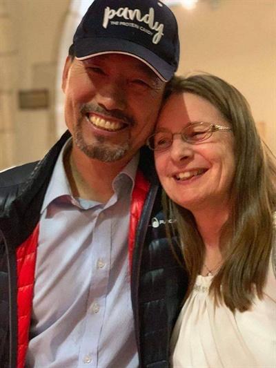 스웨덴에서 살고 있는 황선준 박사와 그의 아내 황레나