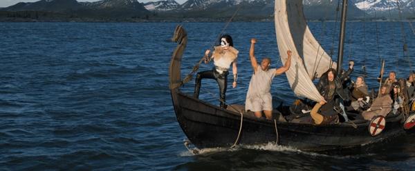 영화 <핀란드 메탈밴드>의 한 장면.