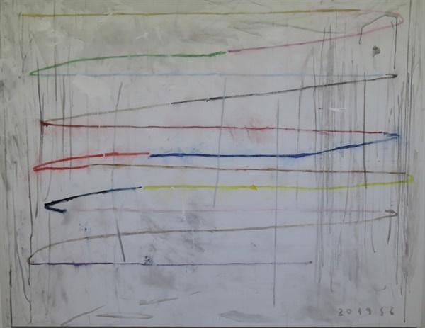 샌정 I '무제(Untitled)' 유화 130×162cm 2019