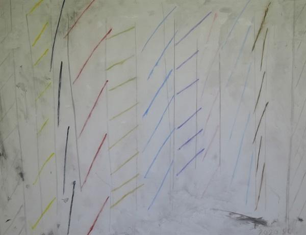 샌정 I '무제(Untitled)' 유화 130×162cm 2020