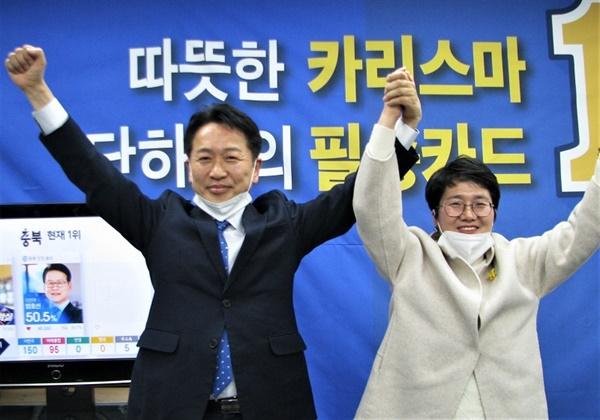 안산 단원갑에 당선된 더불어민주당 고영인 후보