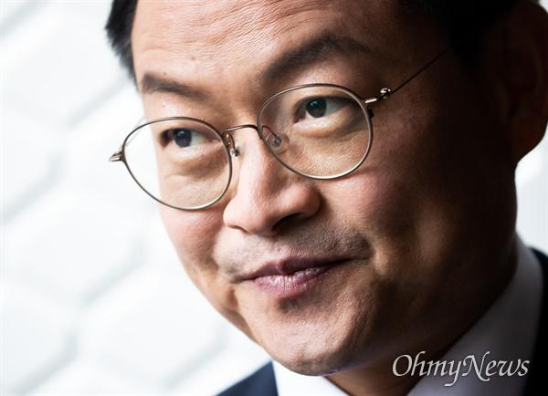 더불어민주당 허영 강원 춘천·철원·화천·양구갑 당선자 인터뷰