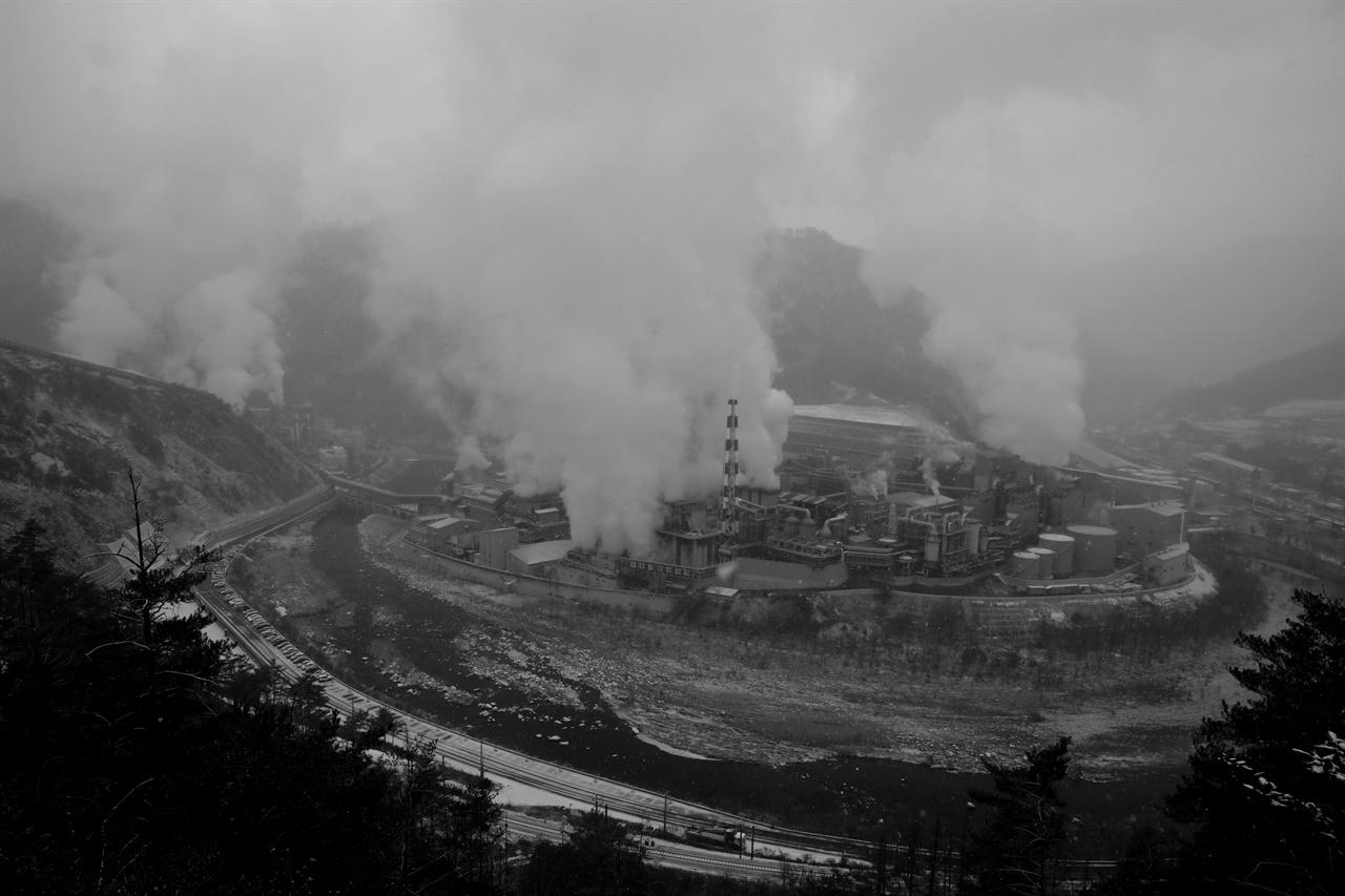 2018년 11월 촬영한 ㈜영풍 석포제련소 1공장