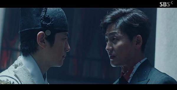 SBS에서 방영중인 <더 킹 : 영원의 군주> 관련 이미지.
