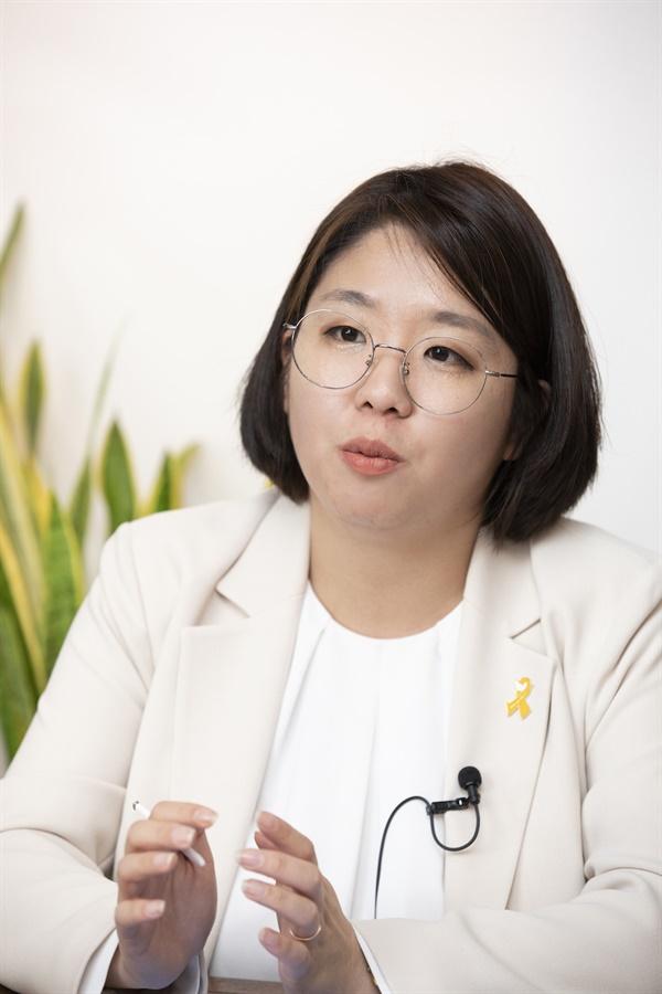 더불어 시민당 용혜인 당선자 (사진 : 정민구 기자)