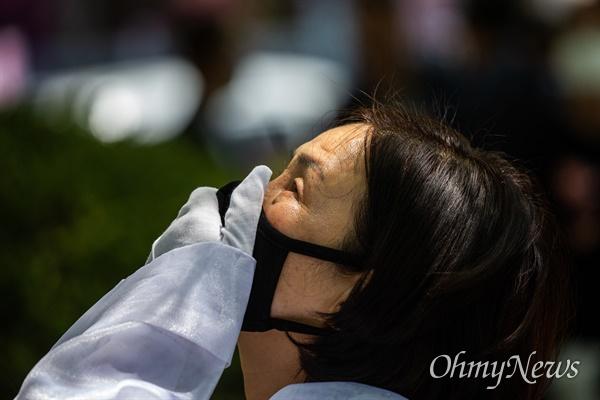5.18 후유증으로 2007년 세상을 떠난 고 강장원씨의 아내 최영자씨