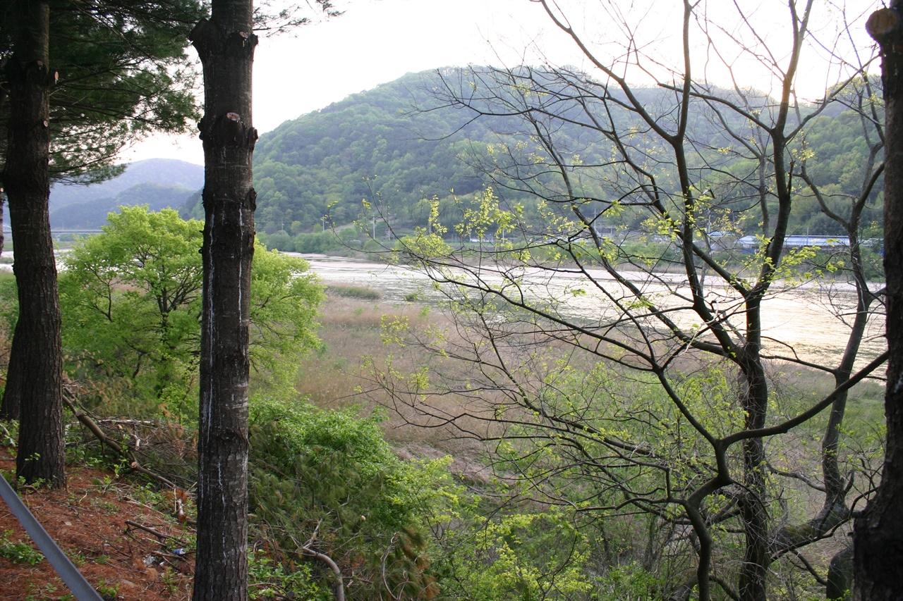 전두환 생가마을을 감싸고 흐르는 합천의 황강