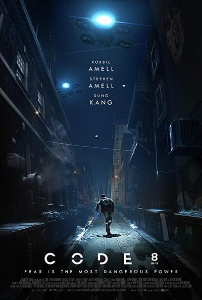 영화 <코드8> 포스터