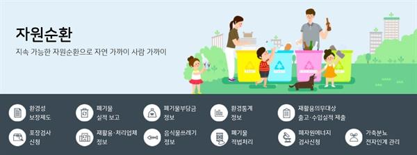 환경공단 홈페이지 이미지