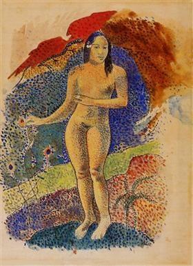 타히티의 이브(1892) 폴 고갱 Source: Wikiart